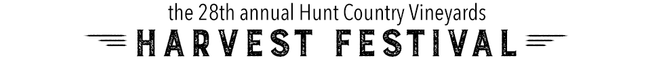 the 28th annual Hunt Couuntry Vineyard Harvest Festival