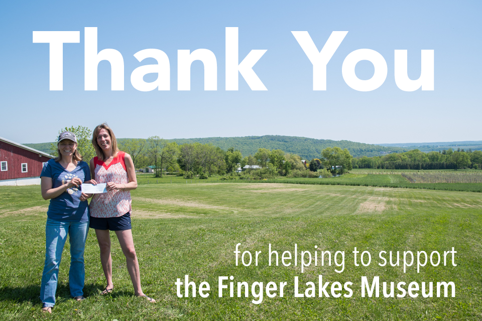 Thank you for helping to support the Finger Lakes Museum