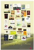 Poster: Celebrating Wine & Horses (Green)