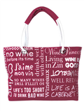 Wine Lovers Shoulder Bag
